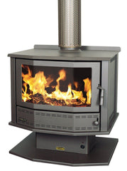 Coonara Firelite Bay Window Freestanding Woodheater, Heater, Coonara