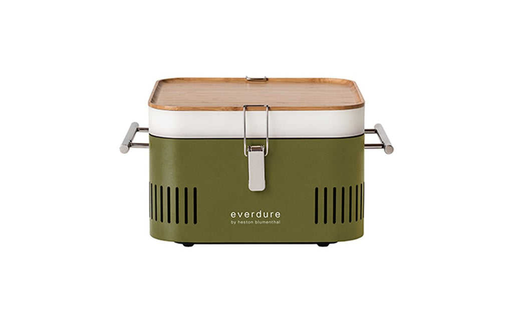Everdure by Heston Blumenthal Cube Charcoal BBQ Khaki - Joe's BBQs