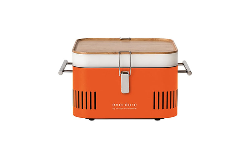 Everdure by Heston Blumenthal Cube Charcoal BBQ Orange - Joe's BBQs