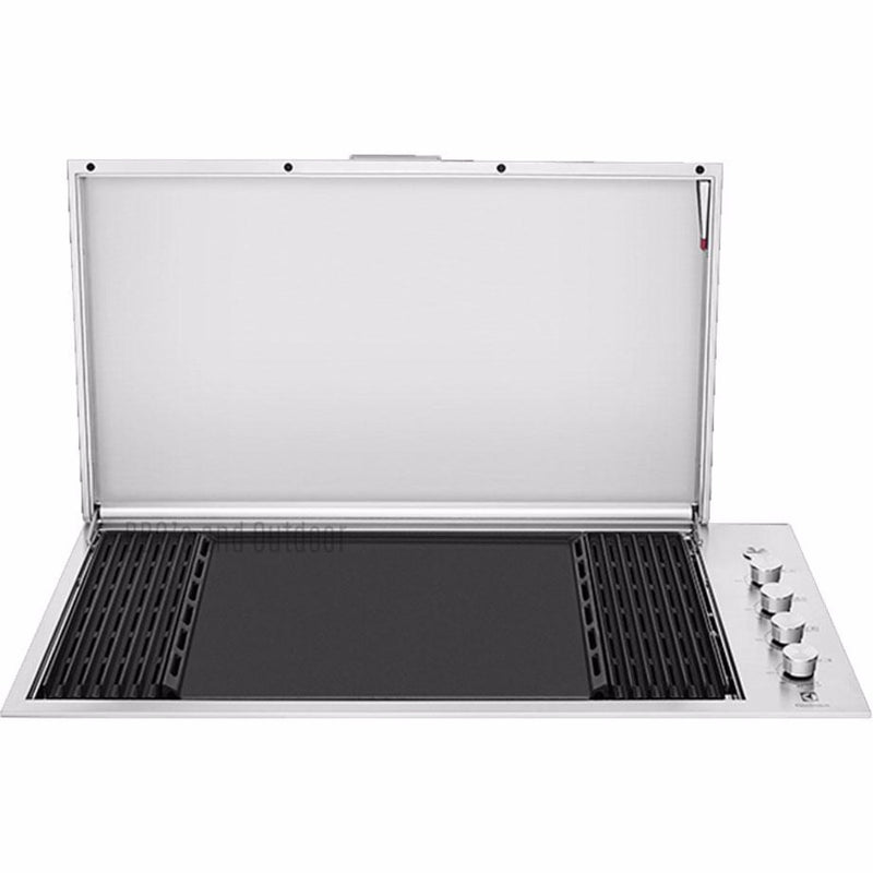 Beefeater Signature ProLine 6 Burner Stainless Steel Built-In BBQ with Lid - Joe's BBQs