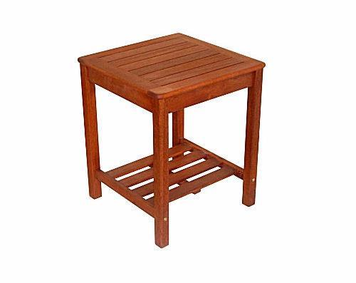 Kwila Extra High Side Table - Joe's BBQs