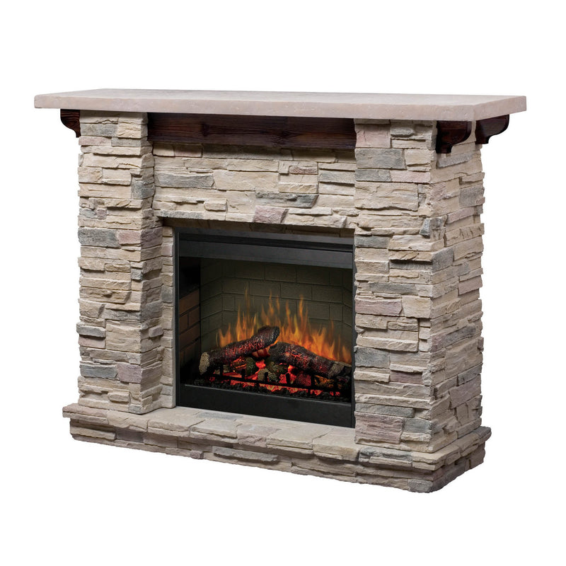Dimplex Featherstone 2kw Mantle with LED Firebox - Joe's BBQs