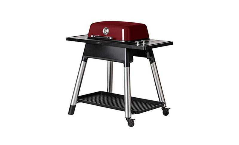 Everdure by Heston Blumenthal Force Gas BBQ Red, Everdure BBQs, Everdure