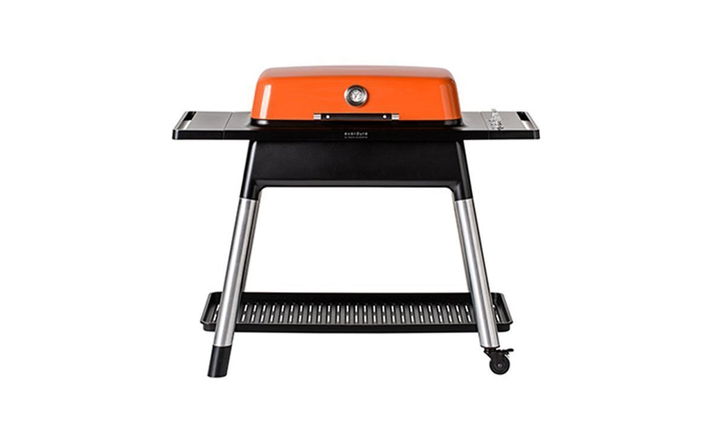 Everdure  by Heston Blumenthal Furnace Gas BBQ Orange, Everdure BBQs, Everdure