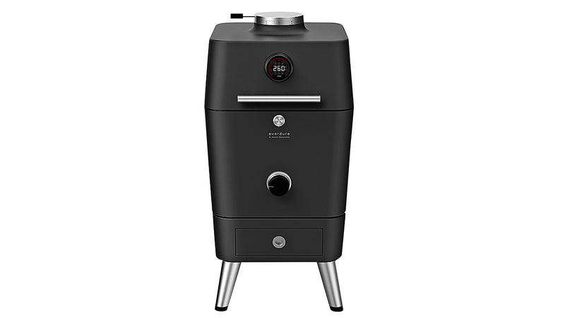 Everdure by Heston Blumenthal 4K Electric Ignition Charcoal BBQ Oven (Black)