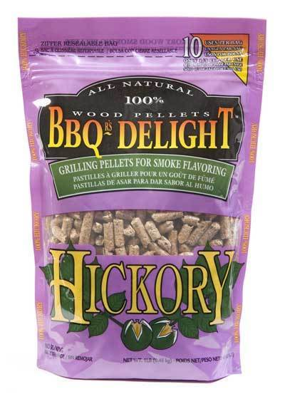 BBQr's Delight Hickory 450g Smoking Pellets, BBQ Accessory, S&D Berg