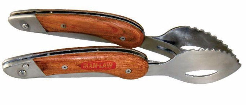 Man Law Folding Tongs - Joe's BBQs