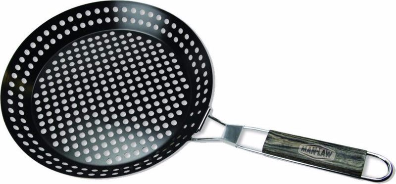 Man Law Non-stick Skillet Basket - Joe's BBQs