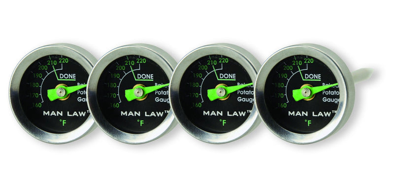 Man Law Glow in the Dark Potato Thermometers - Joe's BBQs