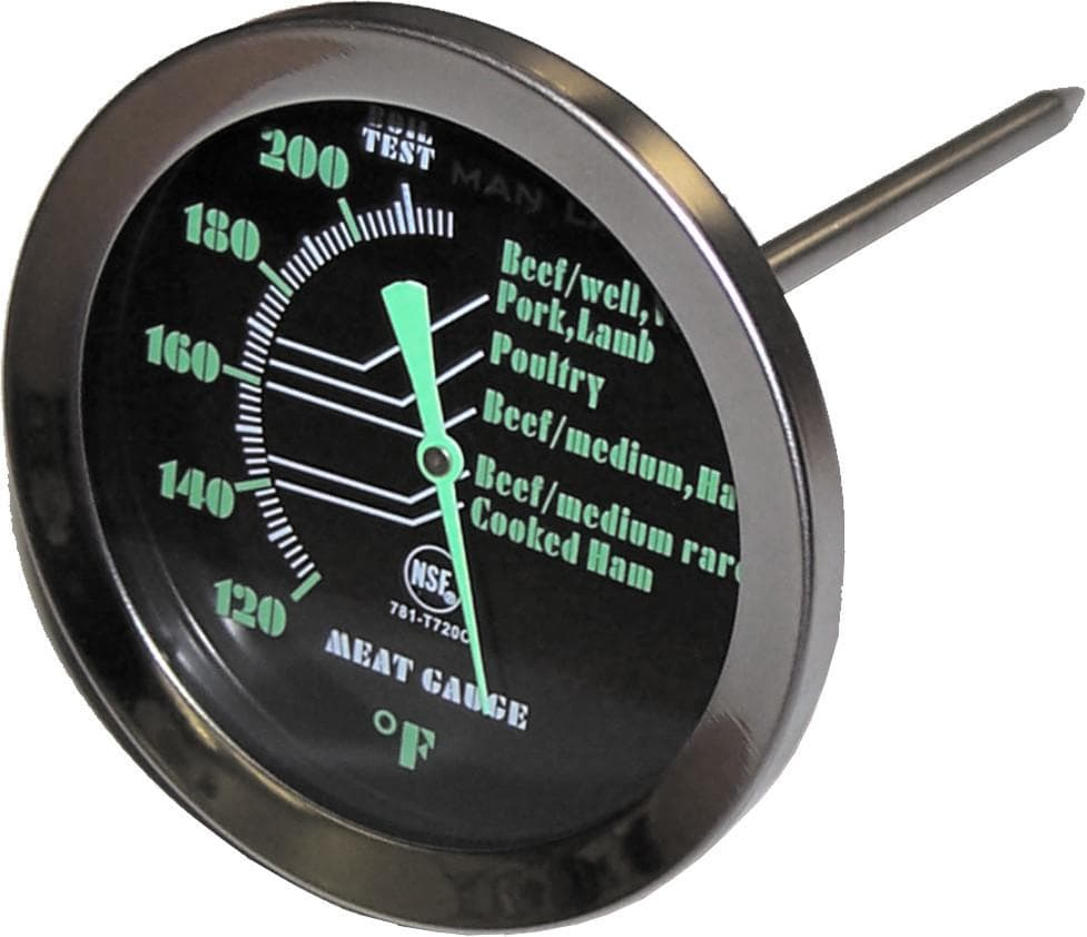 Man Law Dial Type Meat Thermometer - Joe's BBQs
