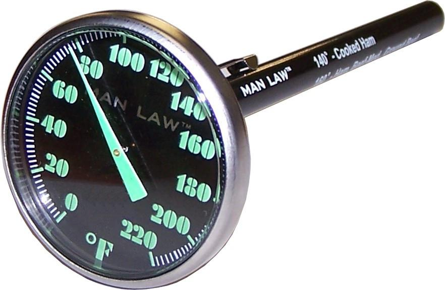 Man Law Dial Instant Read Thermometer - Joe's BBQs