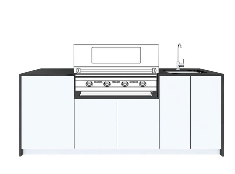 The Euro Prima Outdoor Kitchen - 2.3M