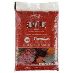 Traeger Signature Blend Pellets 9KG Bag