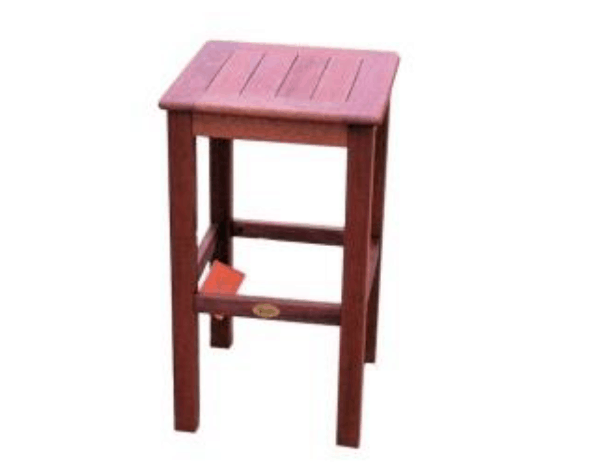 Kwila Square Bar Stool - Joe's BBQs