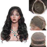Pre Plucked Brazilian 360 Lace Frontal Wig Cap Hairline Body Wave