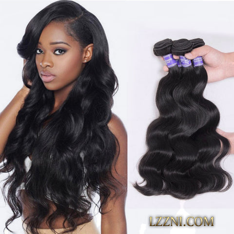 4pcs brazilian virgin hair unprocessed human hair weaves body wave