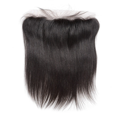 straight hair preplucked lace frontal 13x4 virgin human hair