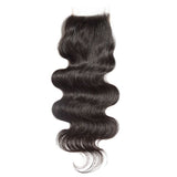 Lace Closure 4X4 Unprocessed Human Hair Body Wave