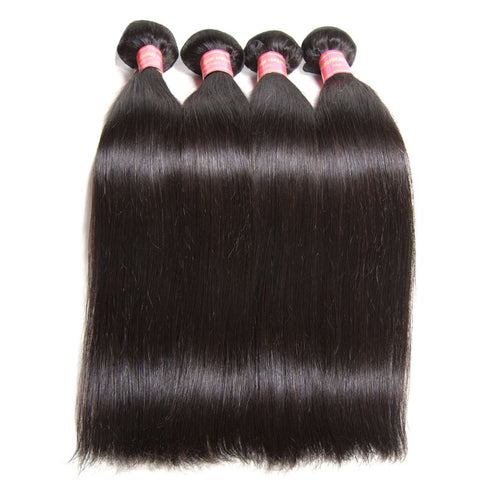 malaysian human hair extension unprocessed straight hair bundles 5pcs