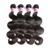 human hair extensions indian virgin hair 5pcs body wave