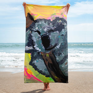 Koala beach towel fundraiser !