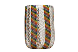 White Rainbow Zanfirico Tumbler