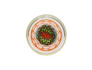 Lava Honeycomb Summer Fire Wig Wag Tumbler