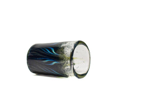 Fume Feathered Shot Glass