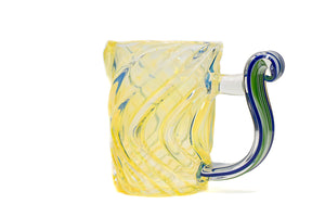 Flat Cane Handle Fumed Mug