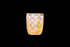Fumed Dot Shot Glass