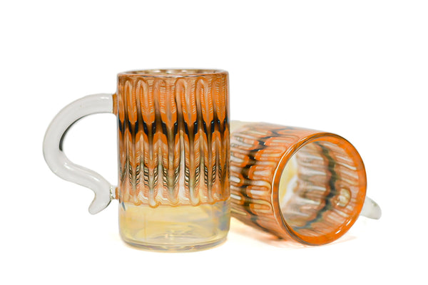 Burnt Ember Wrap and Rake Mug (Pair)