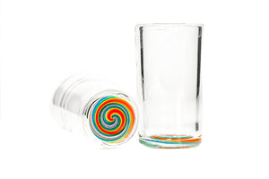 Rainbow Spiral Shots (Pair)