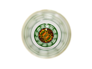 Fall Vibez Green Honeycomb Tumbler