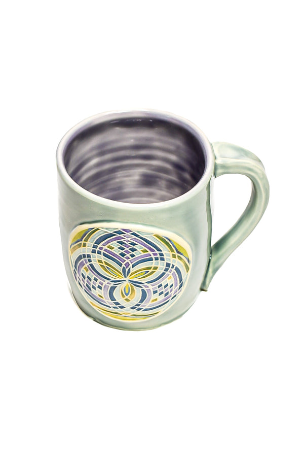 Light Blue Fillacello Mug