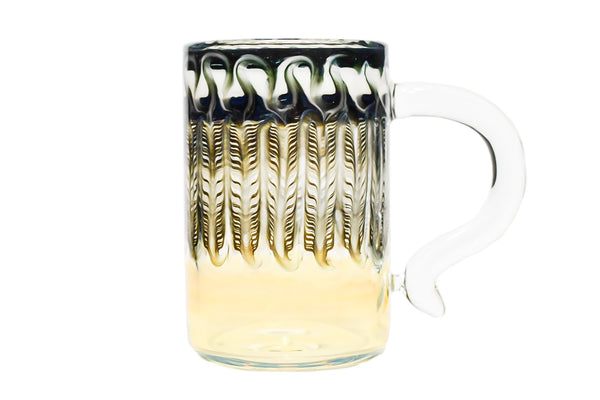 Black and White Wrap and Rake Mug