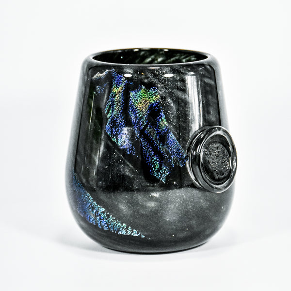 Dichroic Brain Tumbler (Soft Glass)