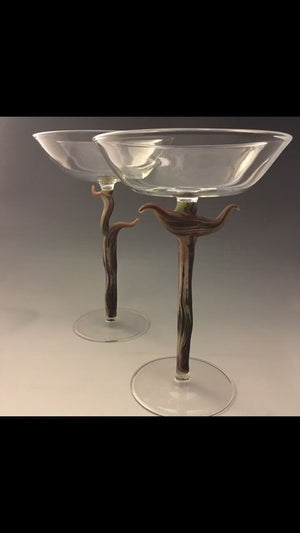Tree Tazza Pair
