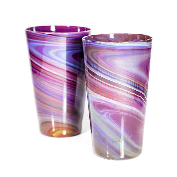 Amber Purple Pints (Pair)