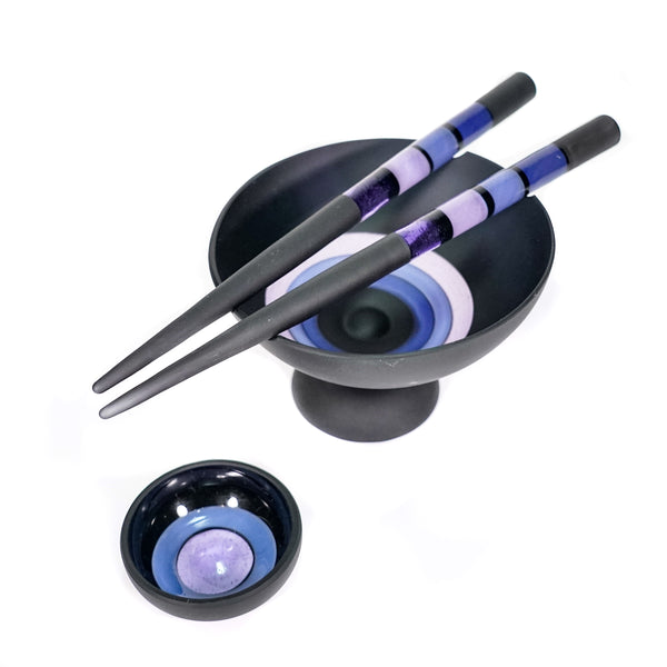 Black & Purples Chop Stix Set