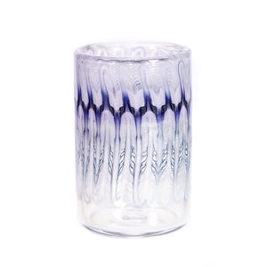 Purple Wrap & Rake Tumblers (Pair)