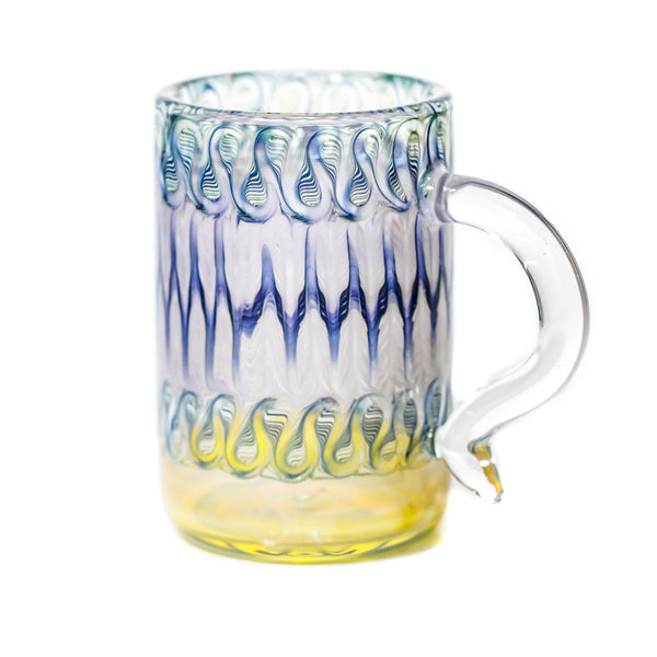 Purple/Blue Wrap & Rake Mug