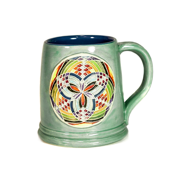 Teal Fillacello Mug