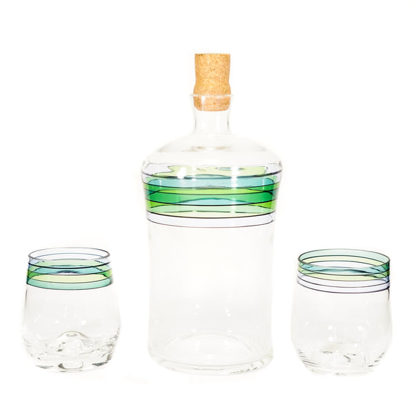 Arctic Fade Decanter Set