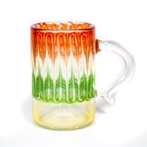 Fumed Wrap & Rake Mug (Christmas)