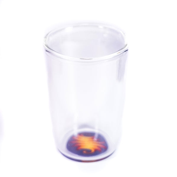 Purple Fire Tumbler