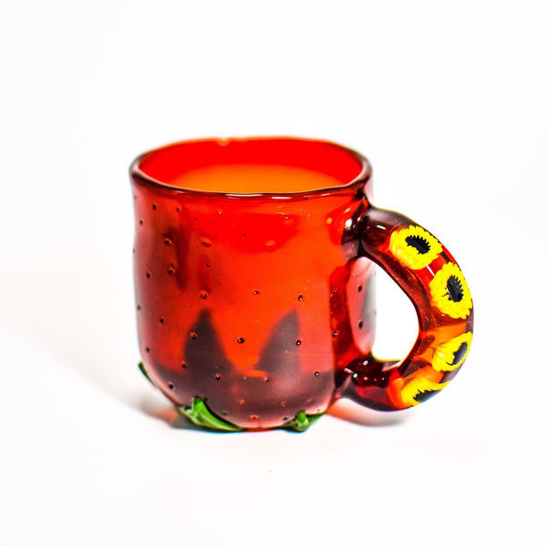 Strawberry Sunflower Mug