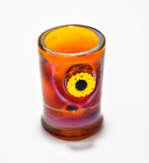 Sunflower Shot Glass