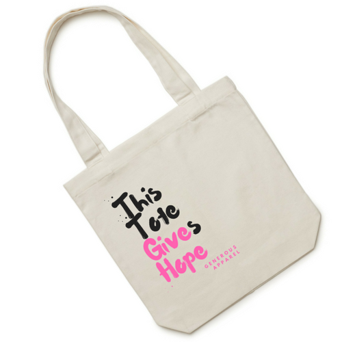 THIS TOTE GIVES HOPE - Pink