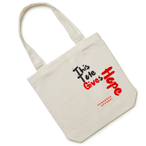 THIS TOTE GIVES HOPE - Red Right