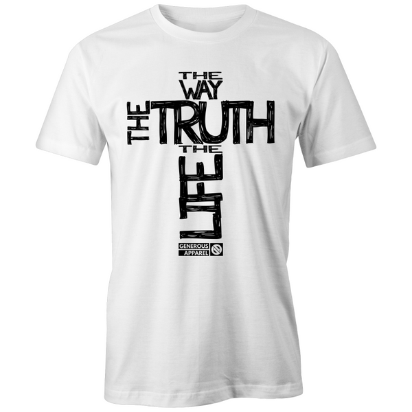Men's - Way Truth and Life - FAIR TRADE TEE